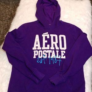 Aeropostale Dark Purple Hoodie